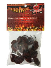 Dried Scorpion Pepper Pods