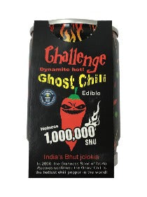 Challenge Ghost Chili Growing Kit