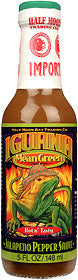 Iguana Mean Green Jalapeno Pepper Hot Sauce