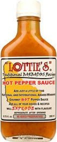 Lottie's Traditional Barbados Yellow Hot Sauce