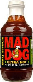 Mad Dog Ultra Hot BBQ Sauce