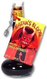 Satan's Blood 800,000 Scoville Chile Extract
