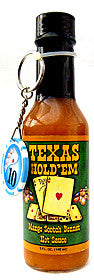 Texas Hold'em Mango Scotch Bonnet Hot Sauce