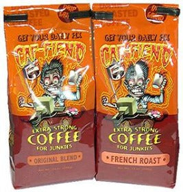 Caf-fiend Extra Strong Coffee for Junkies