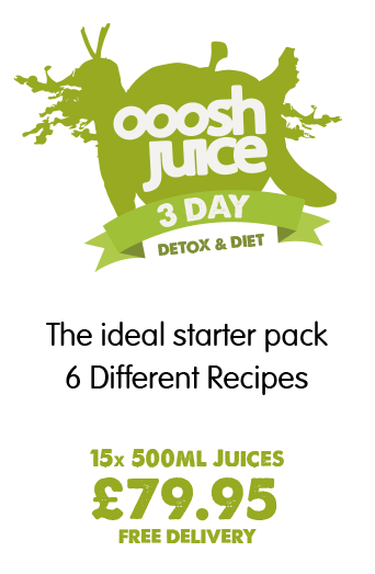 3 Day Ooosh Juice Detox Diet