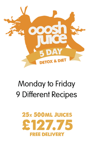 5 Day Ooosh Juice Detox Diet