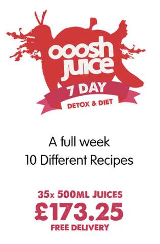 7 Day Ooosh Juice Detox Diet