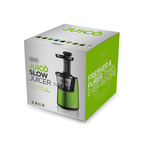 Juico Postbox Red Slow Juicer