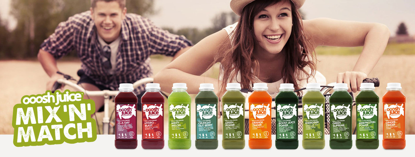 Ooosh Juice - the UK's juice home delivery service