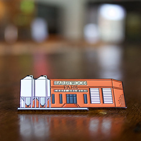 Hardywood Headquarters Pin