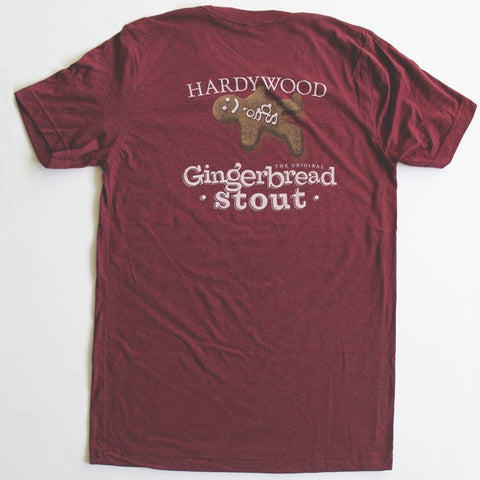 Hardywood Men's Gingerbread Stout Tee