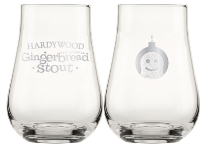 Hardywood Gingerbread Stout Stemless Glass