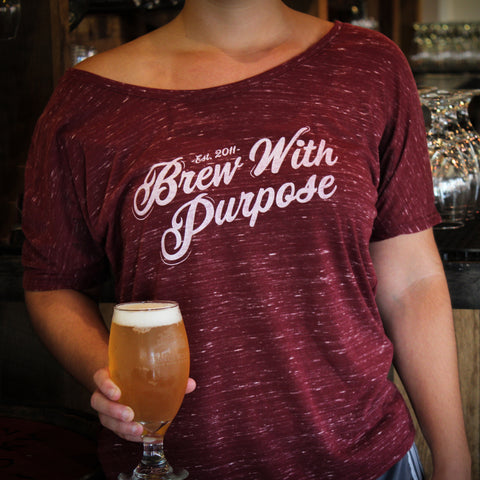 Brew with Purpose Slouchy Tee