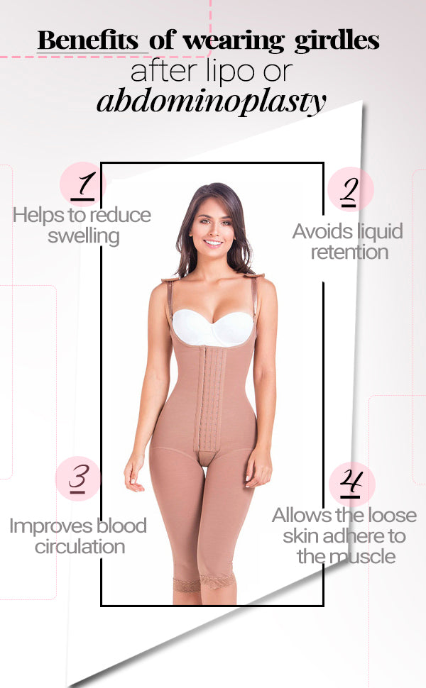 Benefits of wearing a girdles after lipo