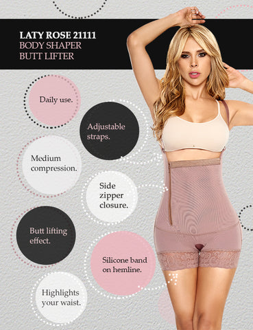 Colombian girdle body shapers