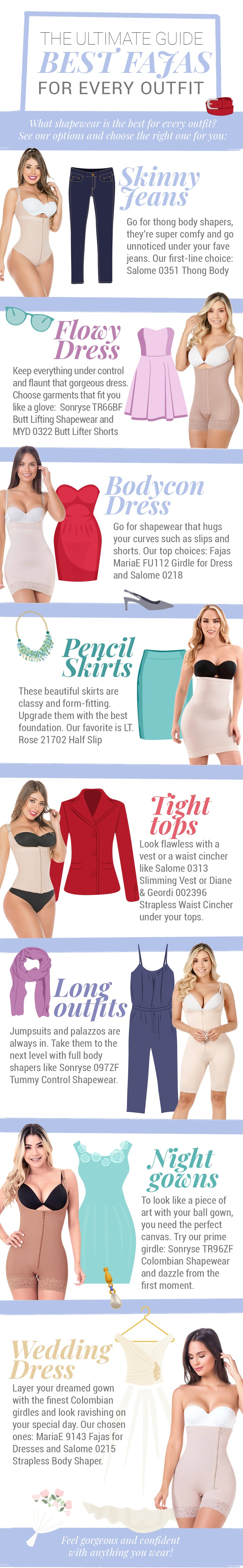 What shapewear is the best for every outfit