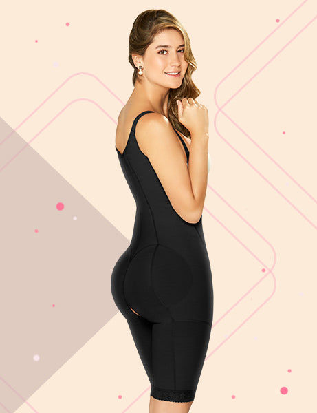 Getting Shaped Wearing Colombian Shapewear for Woman