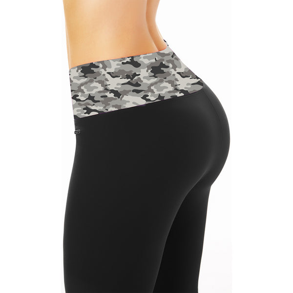 Ann Chery Camouflaged Control Leggings