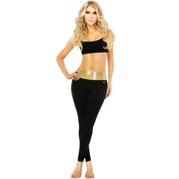 Ann Chery 7038 Metallic Control Leggings