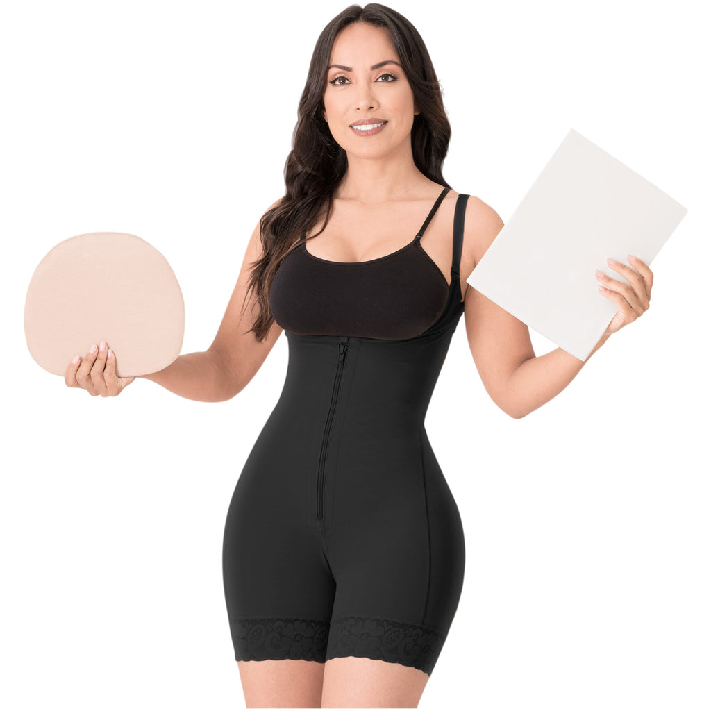 Be Shapy | Diane & Geordi 2396 Colombian Body Shaper + Ab Board Liposuction + Abdominal Lipo Foams