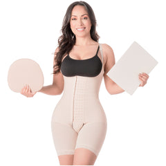 Be Shapy | MariaE 9182 Colombian Shaper Bodysuit After Surgery + Lipo Ab Board and Liposuction Foam