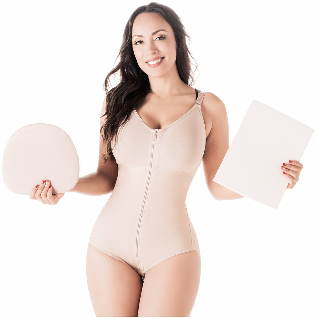 Be Shapy | Salome 0420 Colombian Fajas + Ab Board Liposuction + Abdominal Lipo Foams