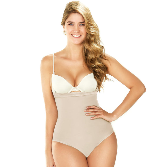2366 Diane Womens Shapewear Strapless Bodysuit with Tummy Control