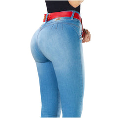 DRAXY 1320 Colombian Mid Rise Skinny Jeans - SS