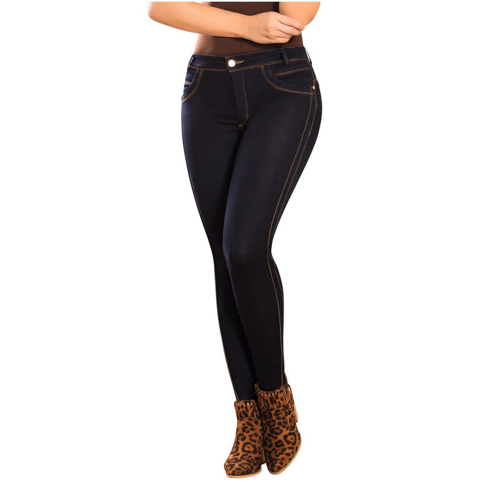 DRAXY 1333 Colombian Low Rise Skinny Jeans - SS