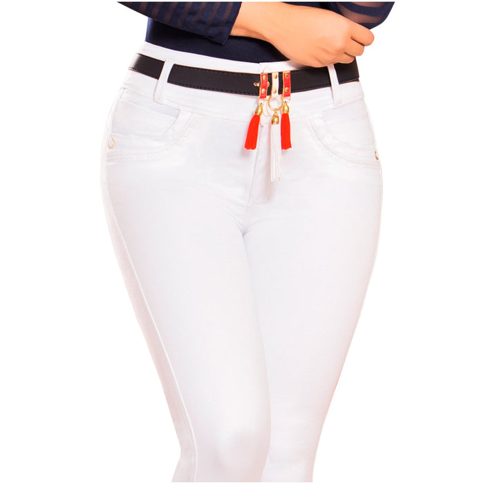 DRAXY 1337 Colombian Mid Rise Skinny Jeans - SS