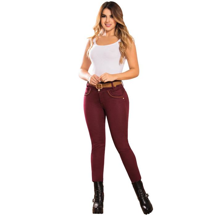 DRAXY 1341 Colombian Mid Rise Skinny Jeans - SS