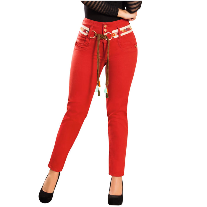 DRAXY 1345 Colombian High Waisted Skinny Jeans - SS