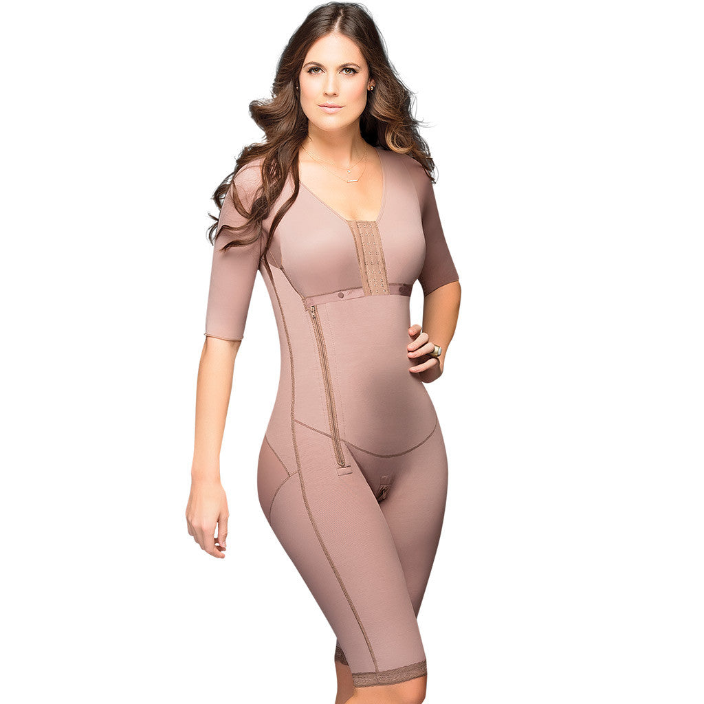 Fajas DPrada 08 | Full Body Shapewear w Bra and Sleeves