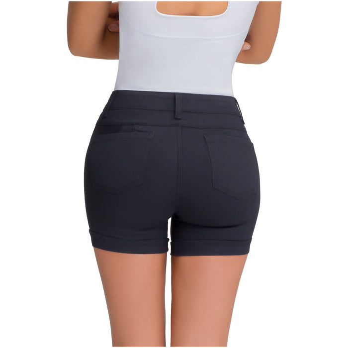 Lowla 239941 | Colombian Butt Lifter Shorts with Removable Pads and Inner Girdle