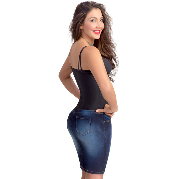 Falda Control con Faja Interna Lowla 258015 - Butt Lifter Skirt with Compression