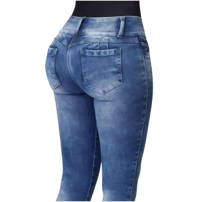 Lowla JE219763 | Butt Lifting High Waisted Skinny Jeans