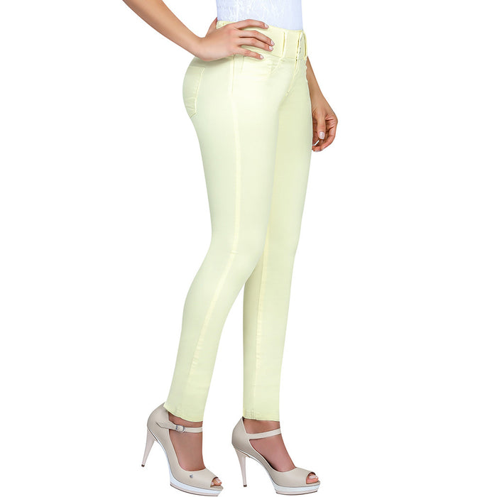 LOWLA 248869 | Tummy Control Skinny Jeans With Inner Girdle