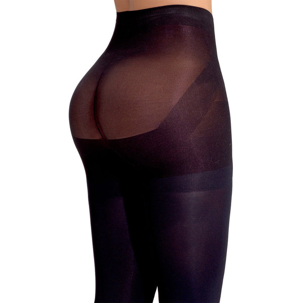 Leggings Levantacola Lowla LGSAM19TLV Moldeadores con Compresion Black Butt Lifter Shaper