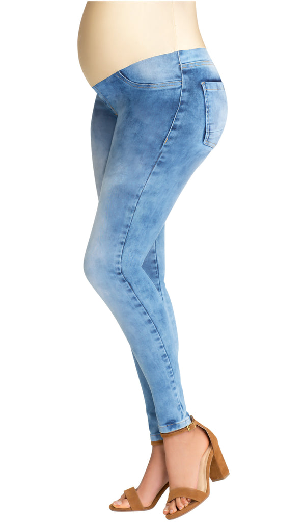 Lowla M2110138 | Maternity Skinny Jeans with Belly Panel