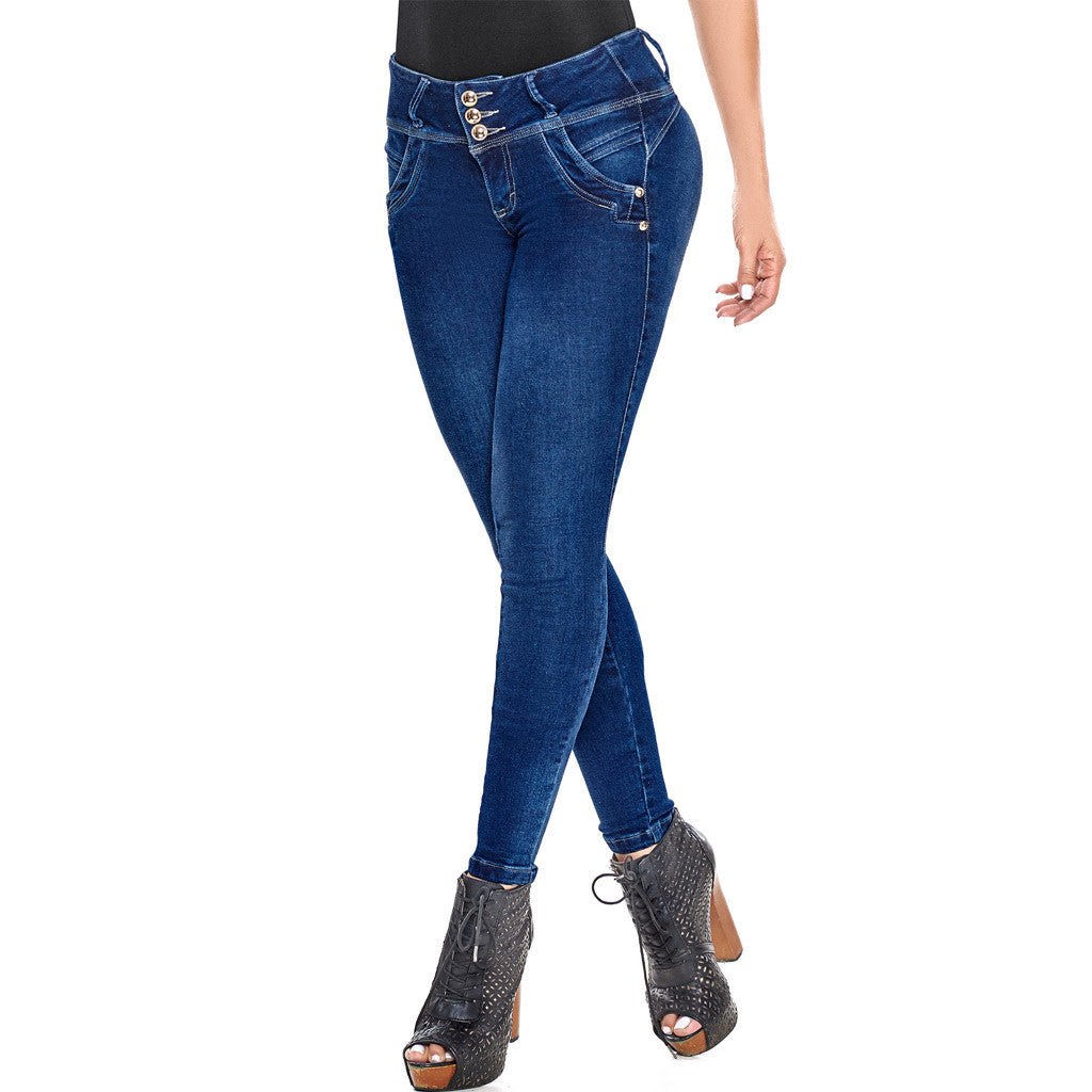 Skinny Jeans Colombianos Levanta Cola