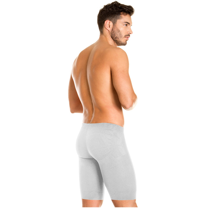 LT.Rose 22996 Men's Underwear Long Boxers with Butt Enhancement