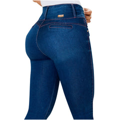 LT.Rose AS3002 | Jeans Colombianos Skinny Levanta Cola