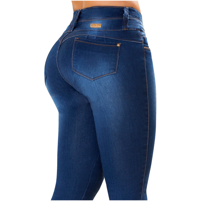 LT. Rose AS3B01 | Colombian Washed-out Butt Lifting Skinny Jeans
