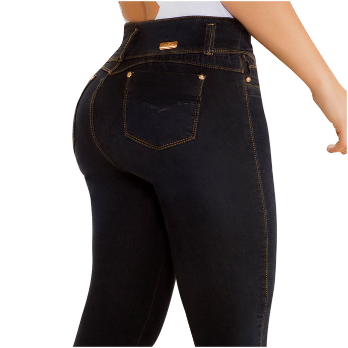 LT.Rose CS3B02 Colombian Mid-rise Butt Lifter Skinny Jeans