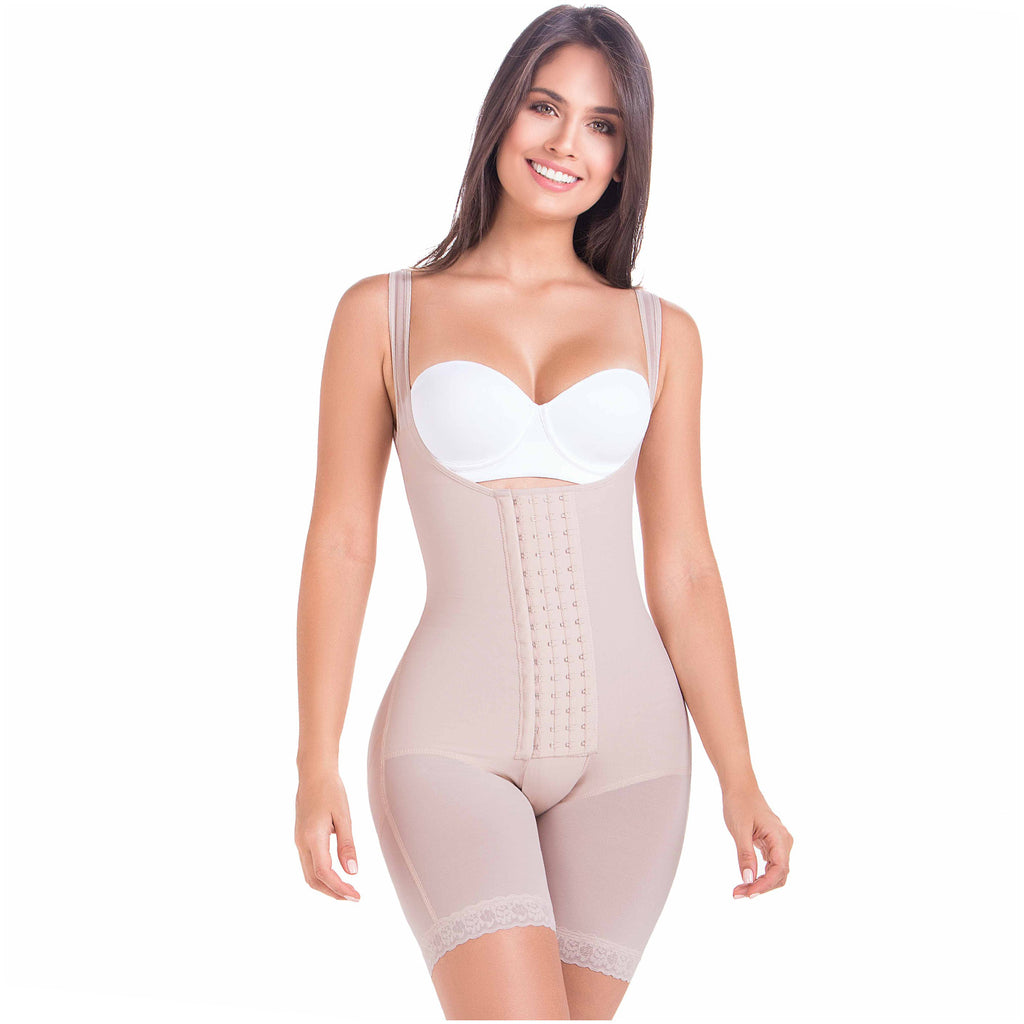 Fajas MariaE 9412 | Colombian Body Shaper Shapewear for Women | After Pregnancy or Post Surgery Girdle Butt Lifting Compression Garment