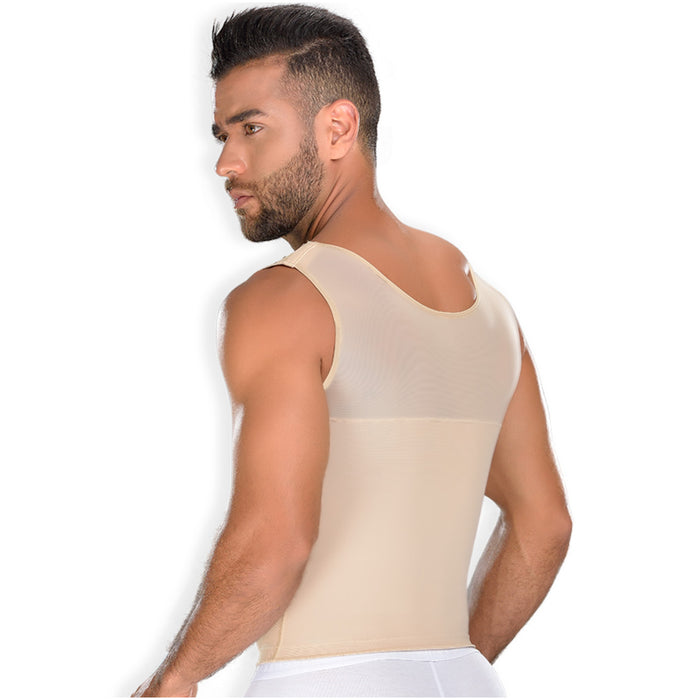 Fajas MYD CH062 | Men's Slimming Vest Body Shaper - Shapes Secrets