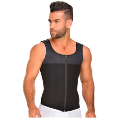 Fajas MYD 0760 | Compression Tank Top Mens Shapewear Slimming Vest