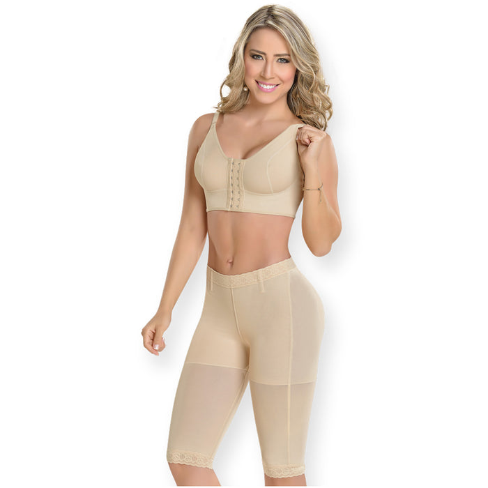 Fajas MYD 0312 | Postpartum Compression Shorts