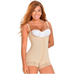 Fajas MYD 0047 | Hip-Hugger Postpartum Body Shaper C Section - Shapes Secrets