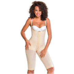 Fajas MYD F0077 | Post-Surgical Full Body Shaper Strapless - Shapes Secrets